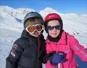 Photo: Broer en zus