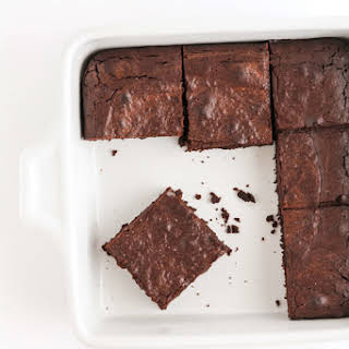Fudgy Oat Flour Brownies.