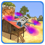 Amazing Drones - Free Flight Simulator Game 3D Icon