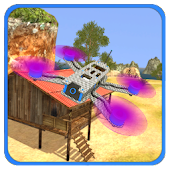 Amazing Drones - Free Flight Simulator Game 3D