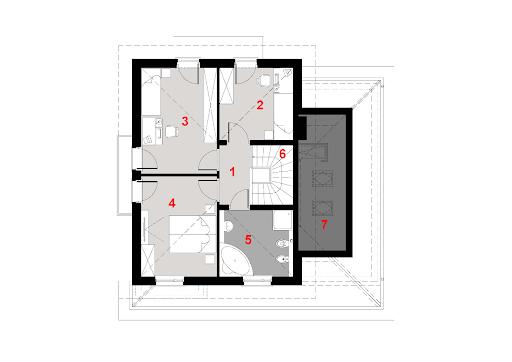 D133 - Rzut piętra