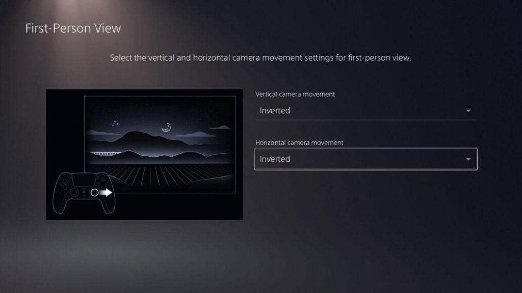 اضبط عناصر تحكم FPS تلقائيًا على الوضع المعكوس ''Inverted Mode''