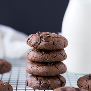 Double Chocolate Peanut Butter Cookies (VIDEO)