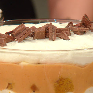 Katie Lee's Pumpkin Toffee Trifle