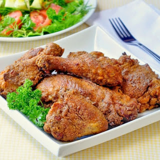 The Best Oven Fried Chicken.