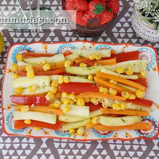 Steamed Vegetable Salad Recipes.