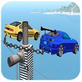 Chained Cars Extreme Driving Simulator