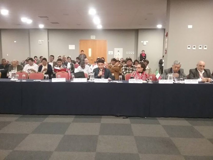 Contribución del PCM en Encuentro de Partidos Comunistas, de Lima, Perú