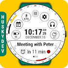 Calendar Watch Face (by HuskyDEV) icon