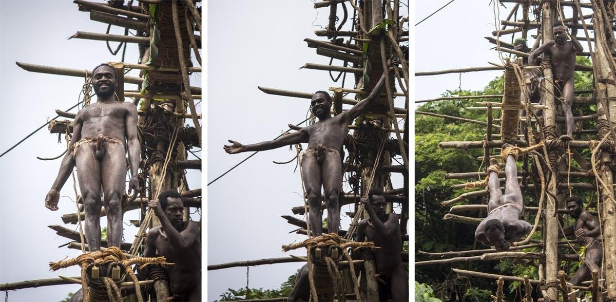 Naghol, o ritual do pulo para a morte