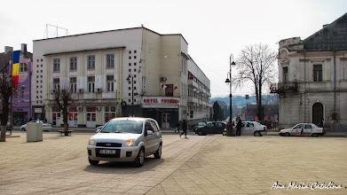 Photo: Turda  Piata Republicii - vedere Str. George Cosbuc  - (2011.03.11)