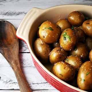 Crock Pot Parsley Potatoes.