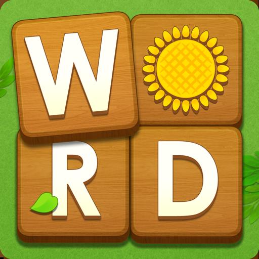 Word Farm Cross Icon