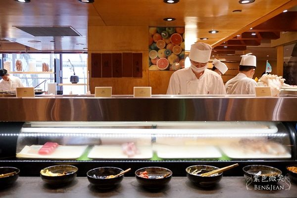 Irodori 彩日本料理~精緻又多樣化的純日本料理buffet,握壽司的高水準