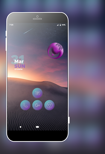 Lazer Violet Icons Pack screenshot 5