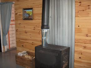 Photo: wood stove