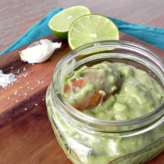 Easy Avocado Dressing (with a touch of lime).