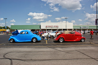 Photo: Red, white and blue cars make July 4th special!