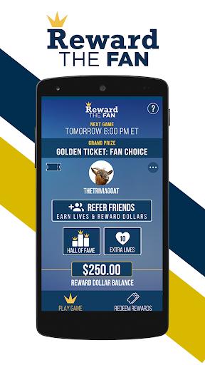 Reward The Fan Trivia 1.57 screenshots 1