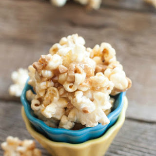 Gooey Butter Toffee Popcorn (with Heath Toffee Bits).