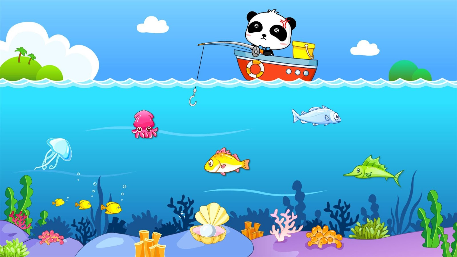Happy Fishing: game for kids- screenshot