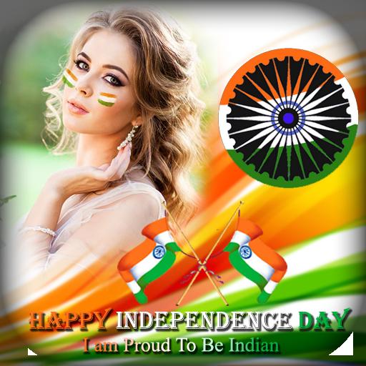 15 August DP Maker - Independence Day DP Maker