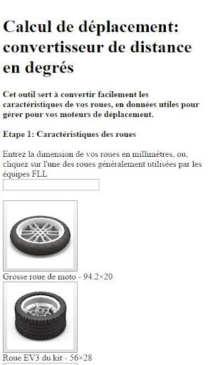 Wheel Converter French