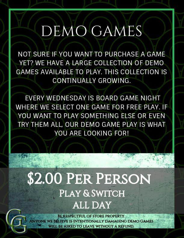 In Store Items | Gator Gamerz, L L C
