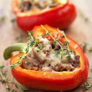 Stuffed Green Peppers Recipe