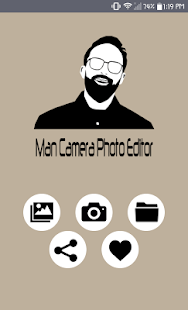 Man Camera Photo Editor - náhled