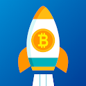 CryptoRocket: Bitcoin & Cryptocurrency Tracker icon