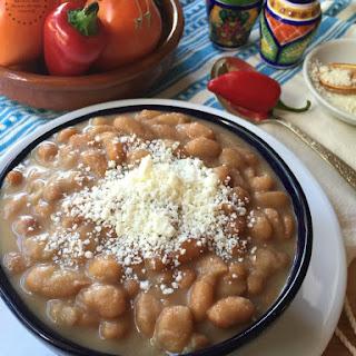 Buttery Mayocoba Beans Recipe