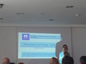 Photo: La representante de la asociación de hipertensión pulmonar de Croacia ha hablado sobre el reembolso de las medicinas de HP.