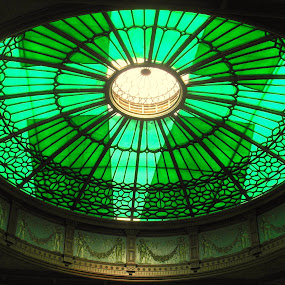 Glass Canopy, Waverley Station, Edinburgh by Nicola Graham - Buildings & Architecture Architectural Detail