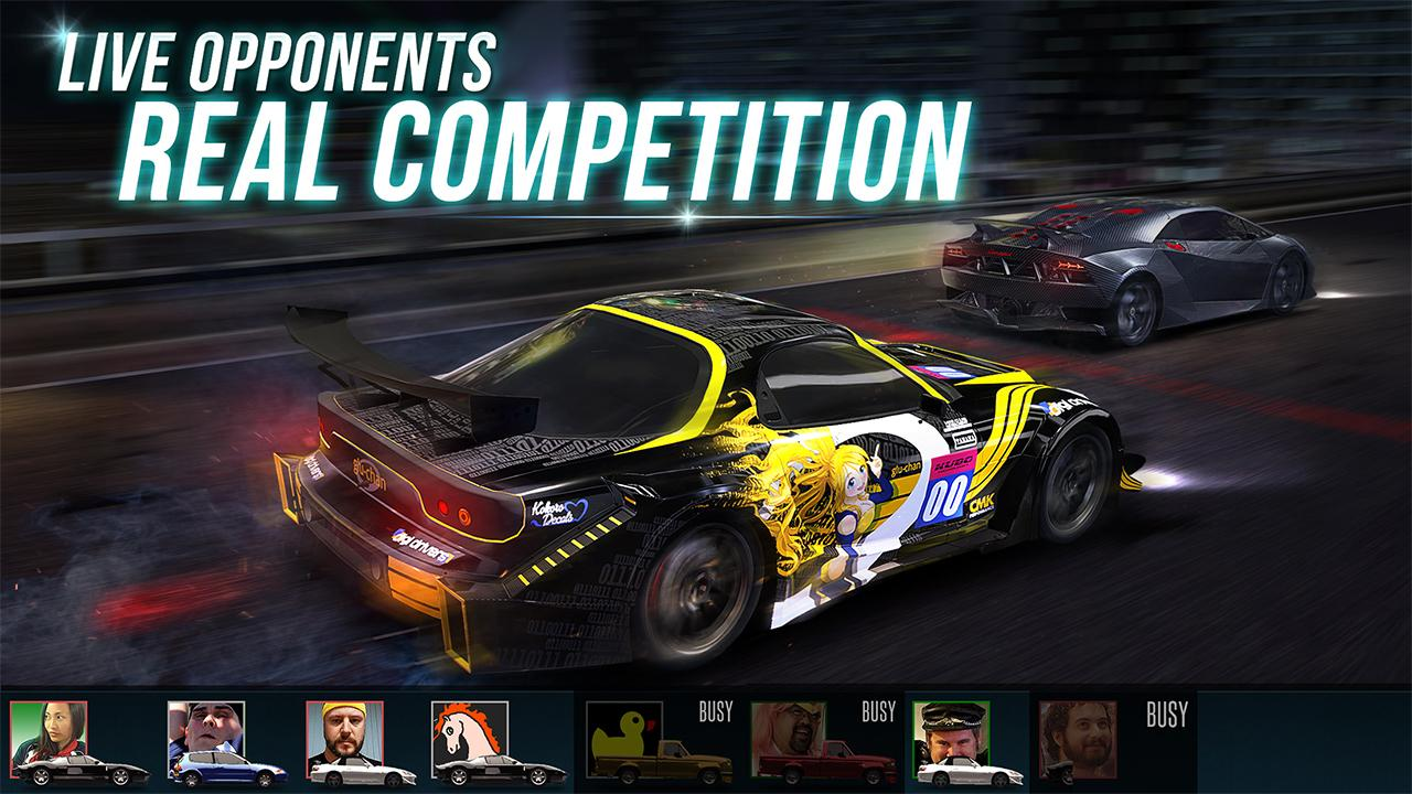 Screenshots of Racing Rivals for iPhone