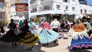 Bailes tradicionales en Chirivel