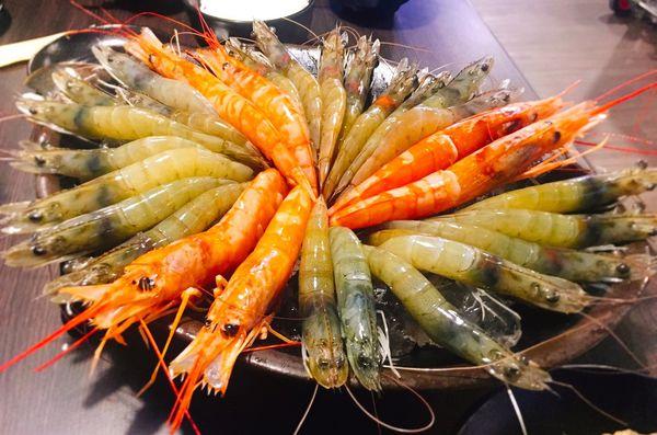 【宜蘭  鼎楓火鍋】挑戰30隻超蝦拼盤只需599元。讓你吃蝦吃到怕!!!!