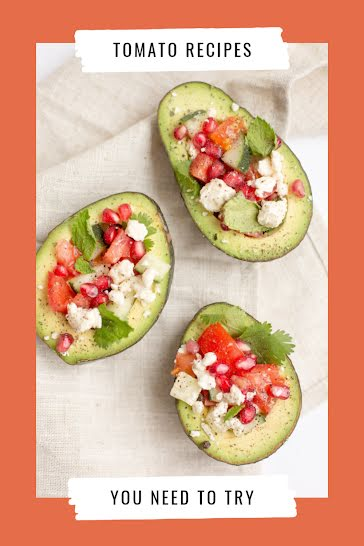 Tomato Recipes To Try - Pinterest Pin Template