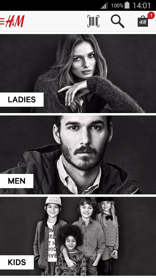H&M- screenshot