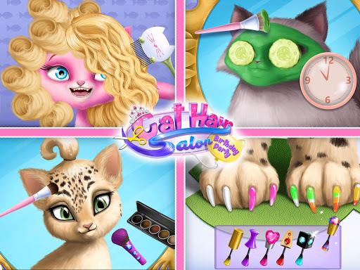 Cat Hair Salon Birthday Party - Virtual Kitty Care 6.0.20 screenshots 16