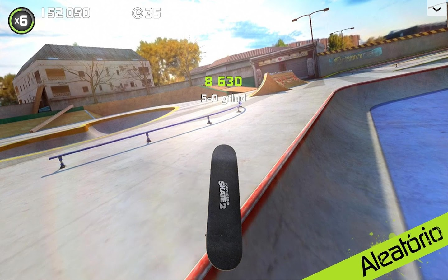 Touchgrind Skate 2: captura de tela