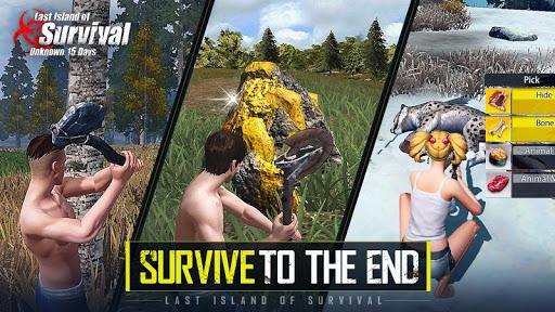 Last Island of Survival: Unknown 15 Days 2.8 screenshots 2