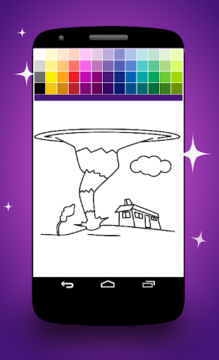 Twister Coloring Pages screenshot 2