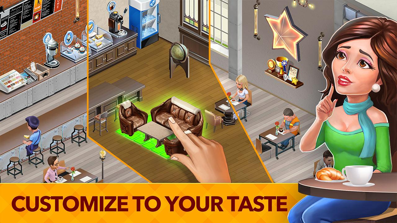 My Cafe: Recipes & Stories - World Restaurant Game- screenshot