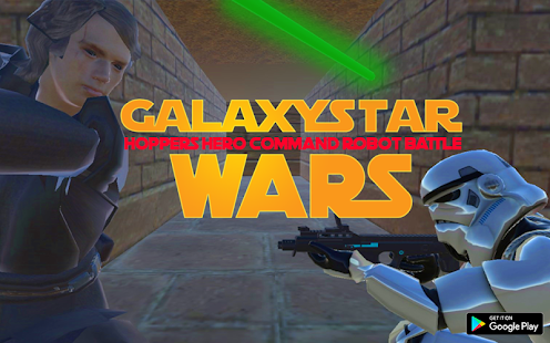 Galaxy Star Hoppers Wars Hero Command Robot Battle - náhled