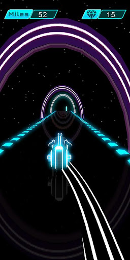 Nom du jeu: Neon Bike Race captures d'u00e9cran 2