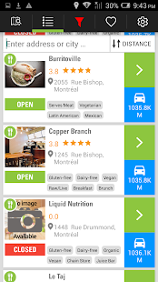 RealFood -Find healthy places- screenshot thumbnail