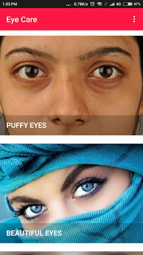 Eye Care - Eye Exercises, Dark Circles, Eyebrows Apk 2