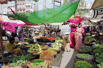 Photo: #018-Le marché d'Udaïpur