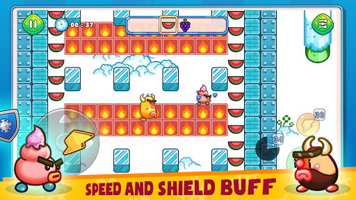 Fruit & Ice Cream - Ice cream war Maze Game  screenshots 2
